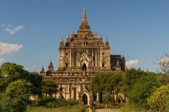 Templo de Thatbyinnyu imagenes de archivo