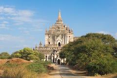 Templo de Thatbyinnyu Fotografía de archivo