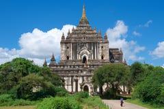 Templo de Thatbyinnyu em Bagan, Myanmar Imagem de Stock Royalty Free