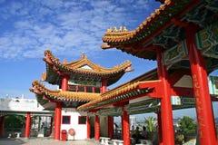 Templo de Thean Hou Imágenes de archivo libres de regalías