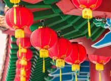 Templo de Thean Hou imagem de stock royalty free