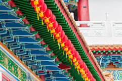 Templo de Thean Hou fotos de stock