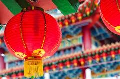 Templo de Thean Hou fotos de stock royalty free
