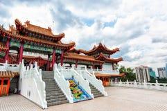 Templo de Thean Hou fotografia de stock