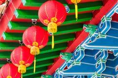 Templo de Thean Hou imagem de stock