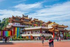 Templo de Thean Hou en Kuala Lumpur Fotografía de archivo libre de regalías