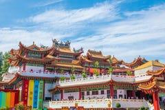 Templo de Thean Hou en Kuala Lumpur Fotos de archivo libres de regalías