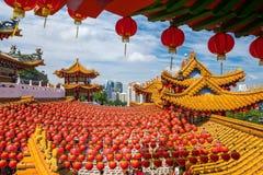 Templo de Thean Hou en Kuala Lumpur Imagen de archivo