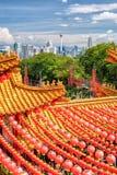 Templo de Thean Hou en Kuala Lumpur Foto de archivo libre de regalías