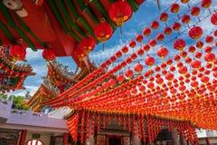 Templo de Thean Hou en Kuala Lumpur Fotografía de archivo