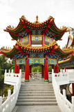 Templo de Thean Hou en Kuala Lumpur, Malasia Fotografía de archivo libre de regalías