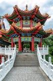 Templo de Thean Hou en Kuala Lumpur, Malasia Imágenes de archivo libres de regalías