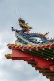 Templo de Thean Hou en Kuala Lumpur, Malasia Imagen de archivo libre de regalías
