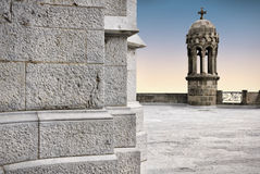 Templo de Tibidabo, Barcelona Imagens de Stock