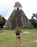 Templo de Tikal Fotos de archivo