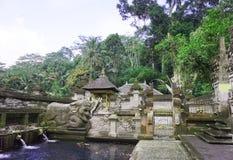 Templo de Tirta Empul, Bali, Indonesia Fotografía de archivo