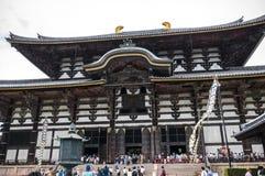 Templo de Todai-ji de Nara Imagens de Stock