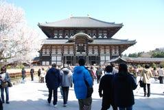 Templo de Todaiji foto de archivo libre de regalías