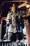 Templo de Todaiji em um dia de mola morno imagens de stock royalty free