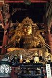 Templo de Todaiji em um dia de mola morno fotos de stock