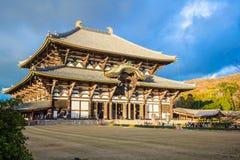 Templo de Todaiji en Nara, Japón Imagen de archivo
