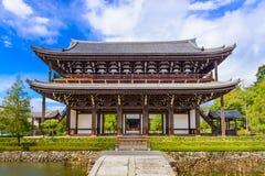 Templo de Tofukuji em Kyoto fotografia de stock royalty free