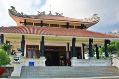 Templo de Ton Duc Thang Isla de la ONG Ho (tigre) Xuyen largo Vietnam Foto de archivo libre de regalías