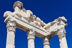 Templo de Trajan imagem de stock