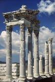 Templo de Trajan Fotografía de archivo libre de regalías