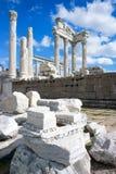 Templo de Trajan Pérgamo imágenes de archivo libres de regalías