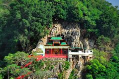 Templo de Tung Wah Taoist imagem de stock