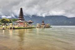 Templo de Ulun Danu fotografía de archivo libre de regalías