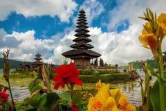 Templo de Ulun Danu fotos de archivo libres de regalías