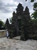 Templo de Uluwatu em Bali, Indonésia imagem de stock