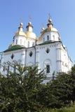 Templo de un monasterio. Imagen de archivo