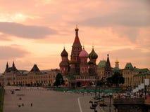 Templo de Vasily abençoado. Fotografia de Stock Royalty Free