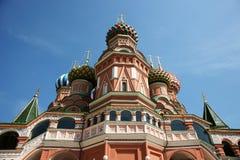 Templo de Vasily abençoado. Fotos de Stock