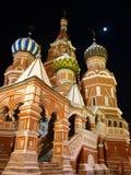 Templo de Vasily Blazhenogo Fotos de archivo libres de regalías