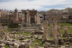 Templo de Venus, Baalbek, Líbano Fotos de archivo