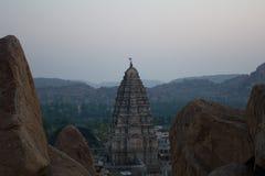 Templo de Verupaksha Imagenes de archivo