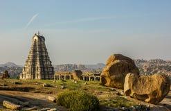 Templo de Virupaksha em Hampi Imagem de Stock