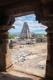 Templo de Virupaksha en Hampi foto de archivo libre de regalías
