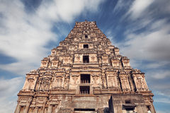 Templo de Virupaksha en Hampi fotos de archivo