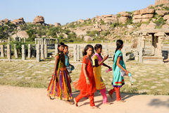 Templo de Vittala em Hampi Foto de Stock Royalty Free