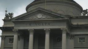 Templo de Volta video estoque