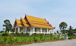 Templo de Wat AHong Silawat Imagen de archivo
