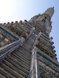 Templo de Wat Arun em Banguecoque foto de stock