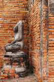 Templo de Wat Chaiwatthanaram em Ayuthaya Fotografia de Stock
