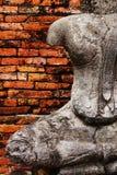Templo de Wat Chaiwatthanaram em Ayuthaya Imagens de Stock
