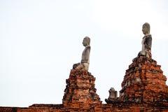 Templo de Wat Chaiwatthanaram em Ayuthaya Fotos de Stock Royalty Free